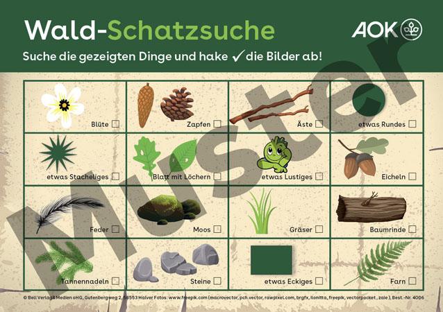 Wald-Schatzsuche