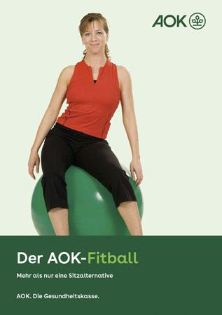 "Broschüre ""Fitball"""