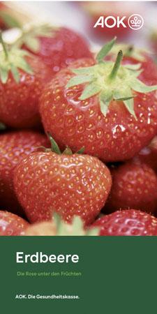 "Faltblatt ""Erdbeere"""