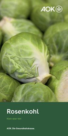 """Faltblatt """"Rosenkohl"""""""