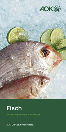 """Faltblatt """"Fisch"""""""
