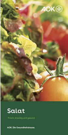 "Faltblatt ""Salate"""