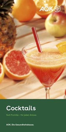 "Faltblatt ""Null Promille Cocktails"""