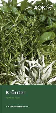 """Faltblatt """"Kräuter"""""""