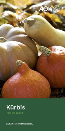 """Faltblatt """"Kürbis"""""""