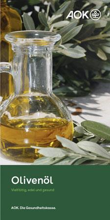 "Faltblatt ""Olivenöl"""