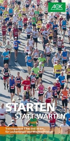 """Trainingspläne 5 km und 10 km """"Starten statt Warten"""""""