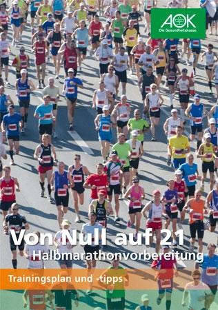 """Trainingsplan Halbmarathon """"Von 0 auf 21"""""""
