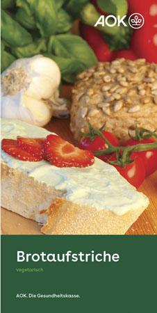 """Faltblatt """"Brotaufstrich"""""""