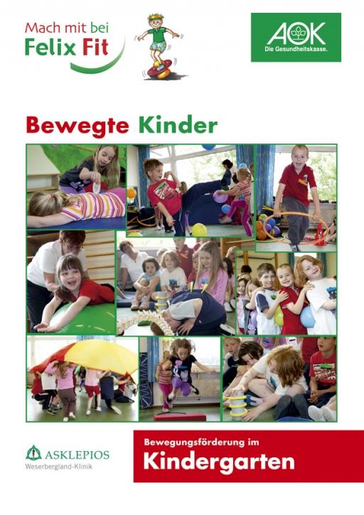 Arbeitsheft Felix Fit Bewegte Kinder - Kindergarten-Version