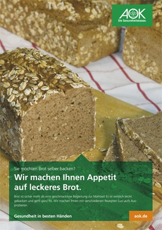 "Poster ""Brot"""