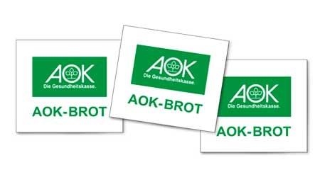 "Brotmarke ""AOK Brot"""