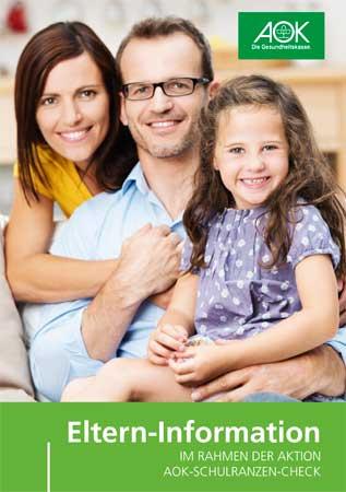 Eltern-Informationen Schulranzen Check