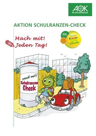 Poster - Schulranzen-Check