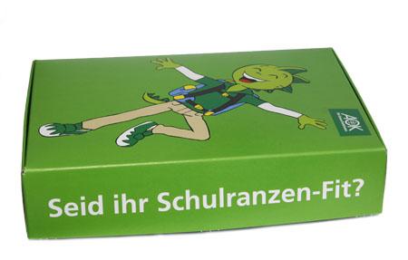 """""""Schulranzen-Fit"""" für die AOK Hessen"""