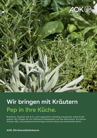 """Poster """"Kräuter"""""""
