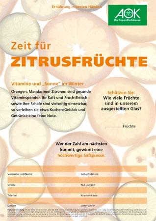 Zitrusfrüchte Quiz