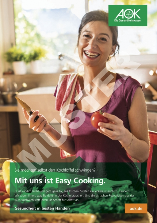 "Poster ""Easy Cooking"""