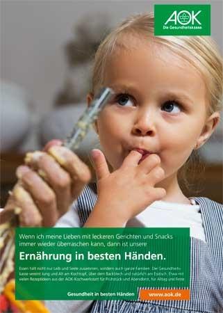 """Poster """"Ernährung in besten Händen 3"""""""