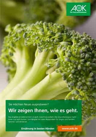 "Poster ""Broccoli"""