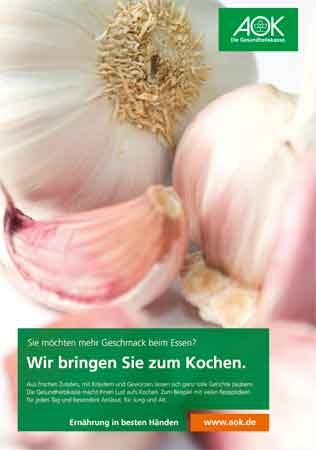 """Poster """"Knoblauch"""""""
