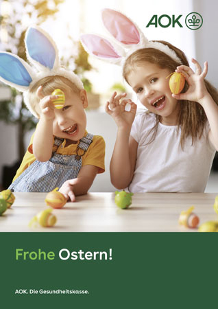 "Poster ""Ostern 1"""