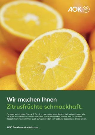 """Poster """"Zitrusfrüchte"""""""