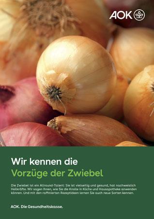 """Poster """"Zwiebel"""""""