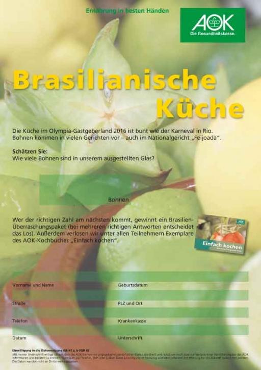 Brasilien Schätzspiel DIN A 4