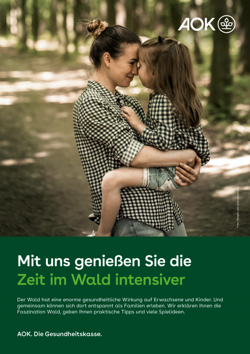 """Poster """"Wald"""""""