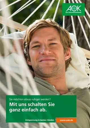 """Poster """"Entspannung"""""""