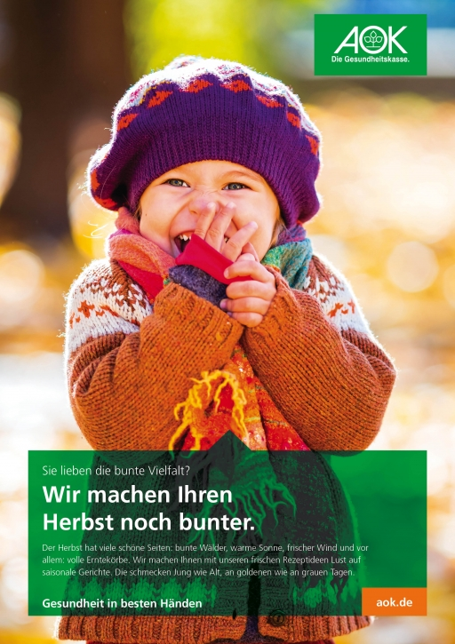 """Poster """"Herbst"""""""
