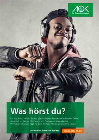 Poster Was hörst du?