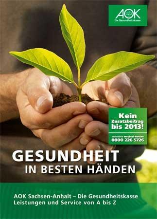 Leistungen von A bis Z <br>AOK Sachsen-Anhalt</br>