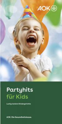 """Faltblatt """"Partyhits für Kids"""""""